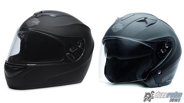 Lançada no Brasil a nova linha de capacetes Harley-Davidson