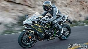 Kawasaki Ninja H2 em ação