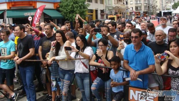 O público marcou presença, com mais de 10 mil pessoas nas Ruas das Motos